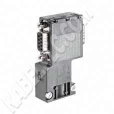 6ES7 972-0BB12-0XA0 (90 Degree Profibus Connector with PG Socket)