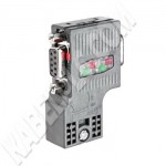 6ES7 972-0BB52-0XA0 (90 Degree Profibus Connector Fast Connect with PG Socket)